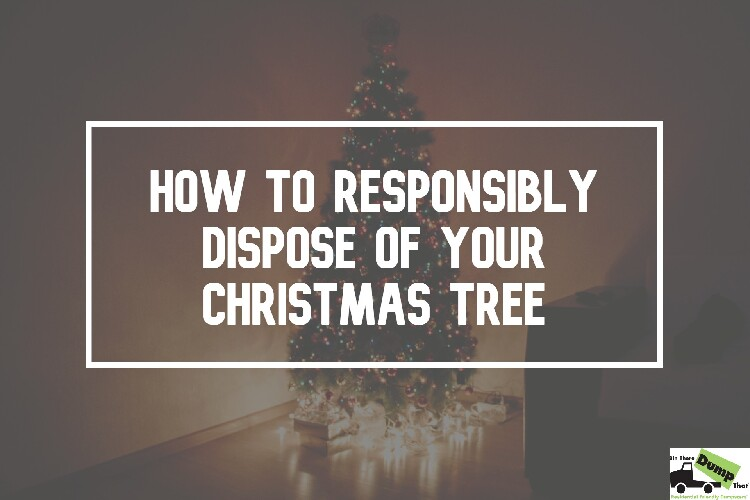 How to Responsibly Dispose of Your Christmas Tree